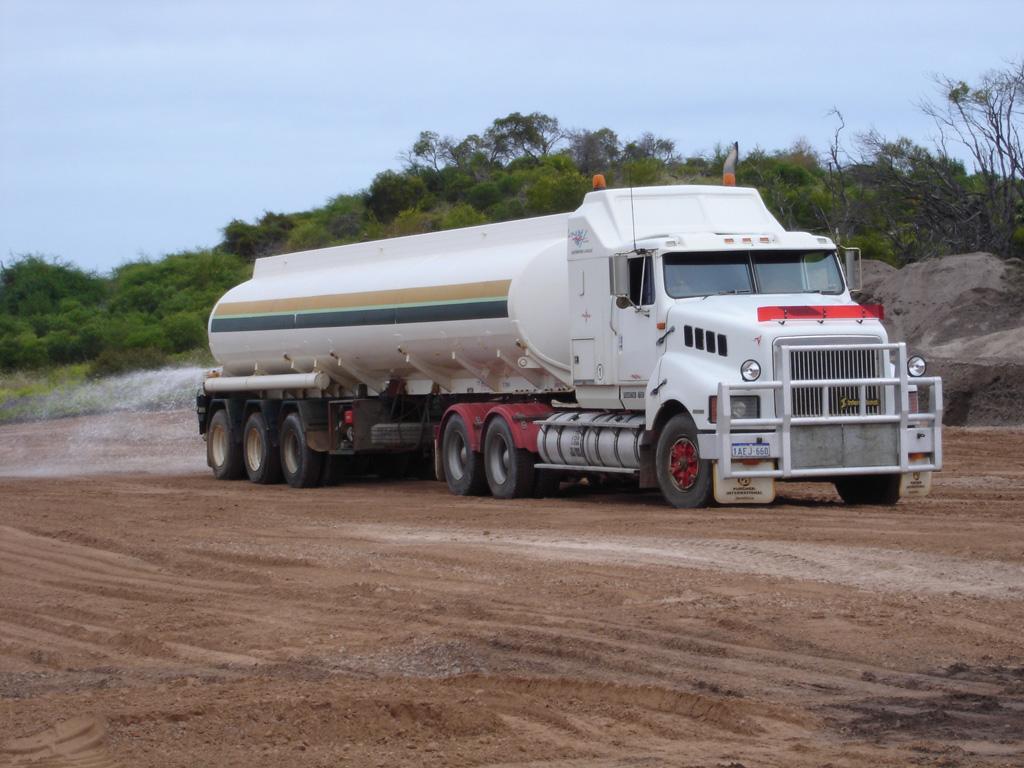 Water tanker geraldton